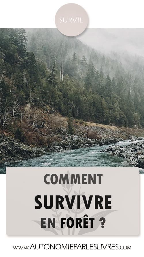 pinterest survie forêt