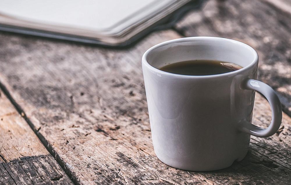 café tasse bureau