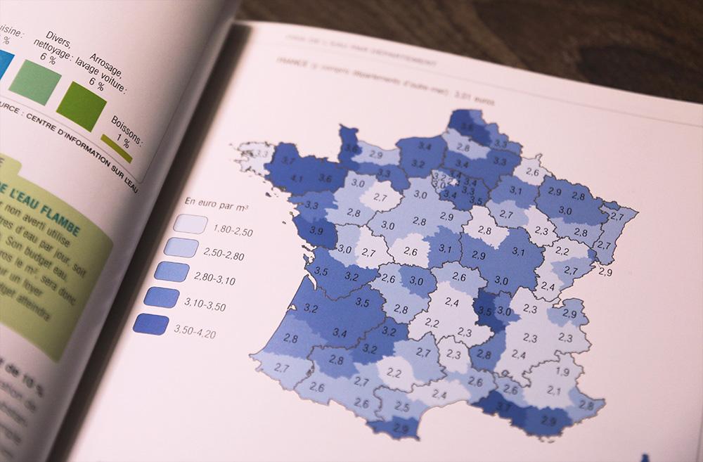 carte france consommation eau habitant