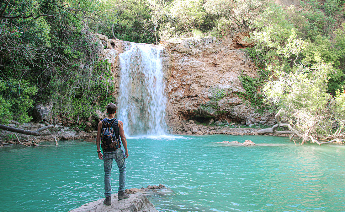 cascade verdon france eau turquoise