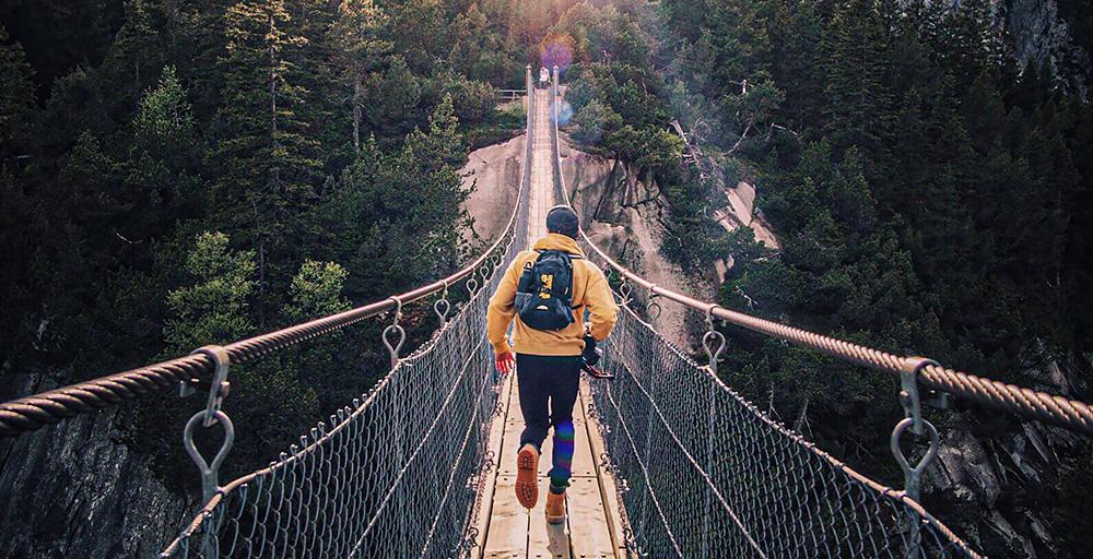 course courir pont forêt