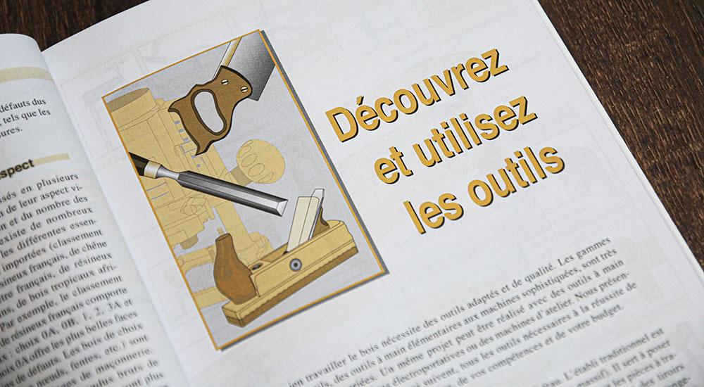 découvrir outils menuiserie bois
