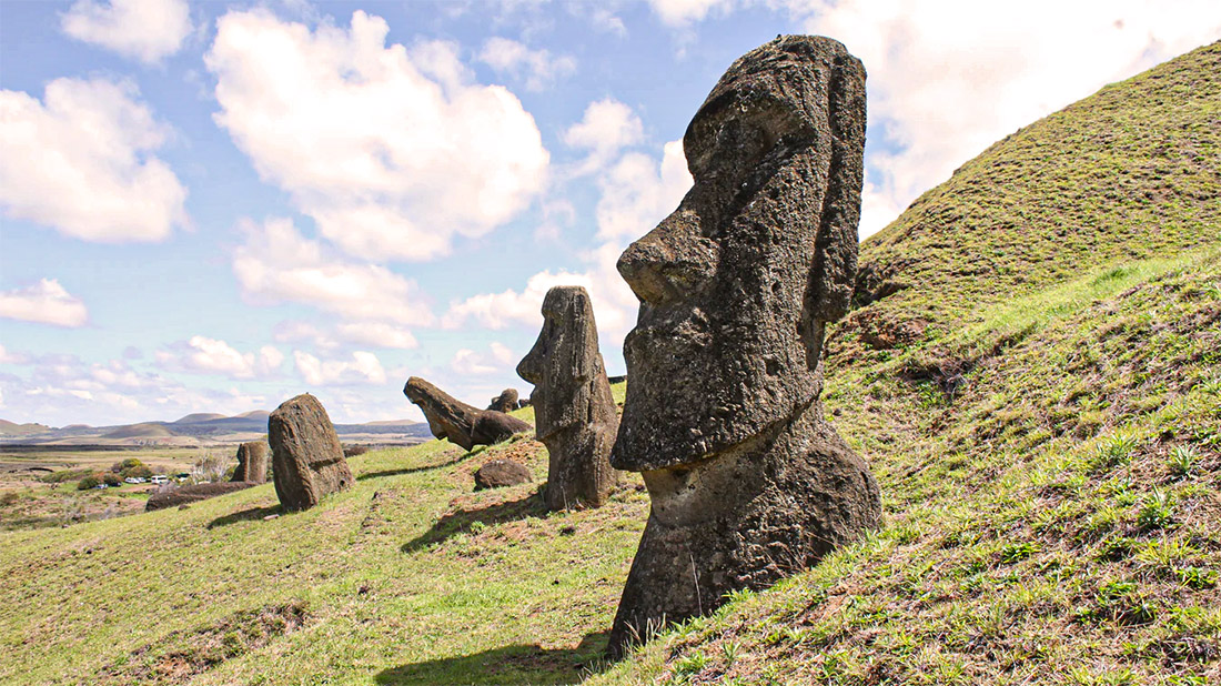 moai ile de paques civilisation effondrée