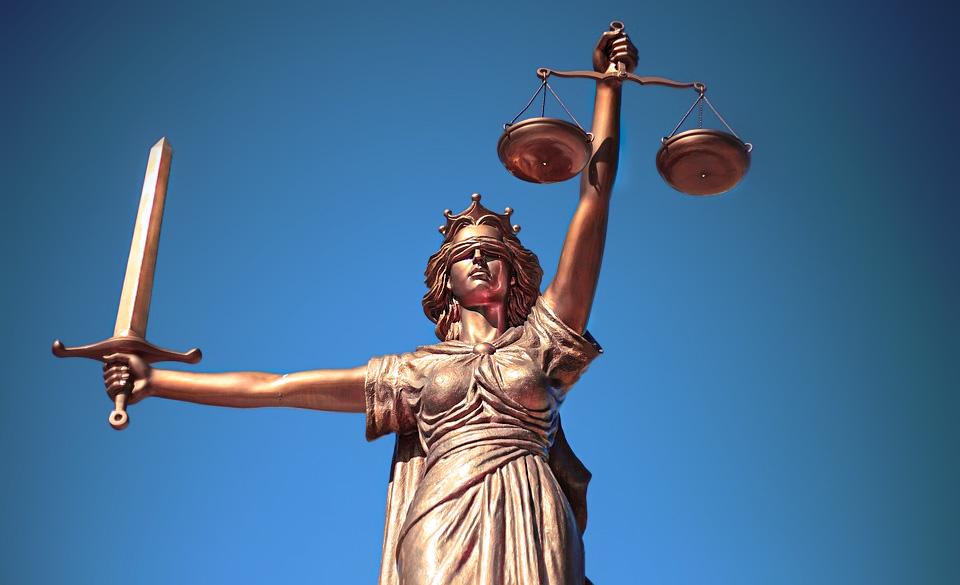 justice statue mythologie déesse
