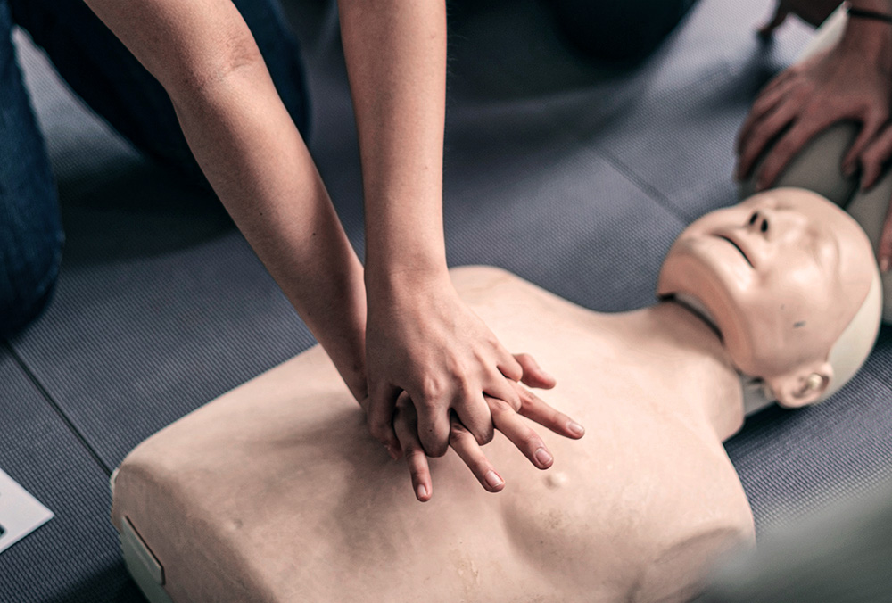 massage cardiaque formation