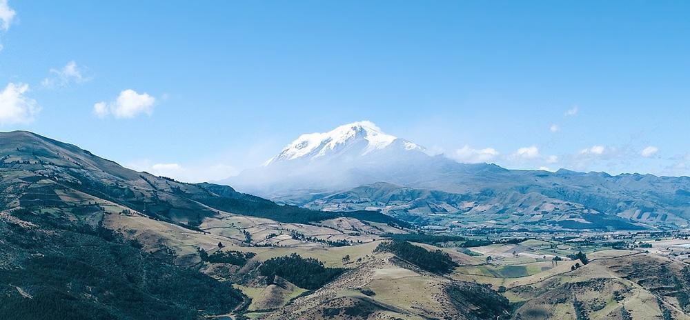 mont Cayambe volcan équateur