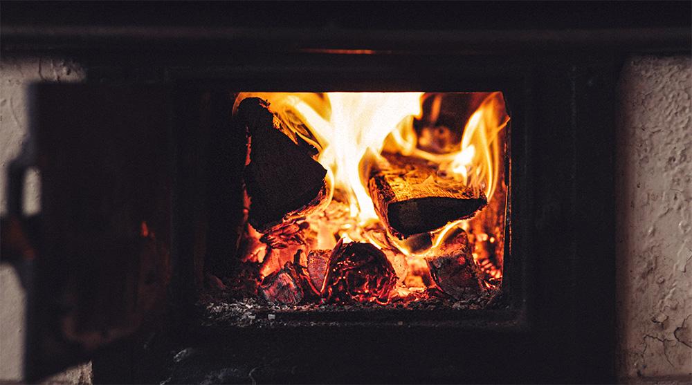 poele bois insert feu chauffage