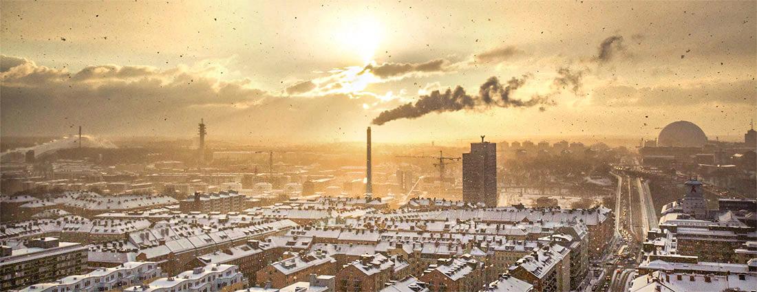 ville usine pollution polluée