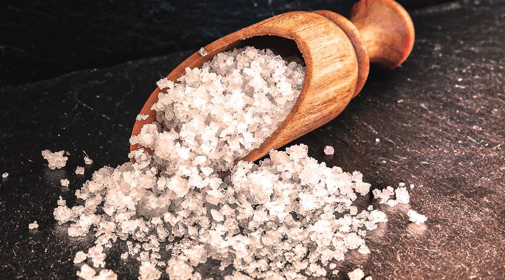 gros sel brut marin