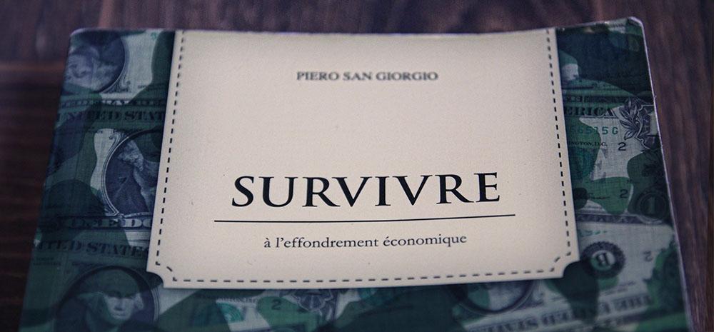 survivre effondrement économique livre piero san giorgio