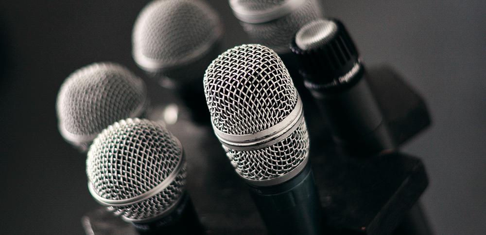 micro voix son