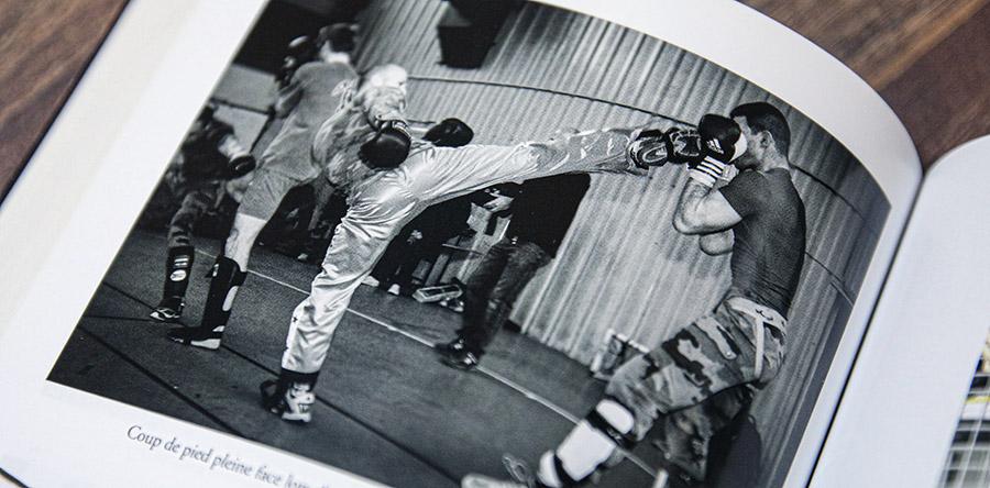 entraînement gign combat boxe